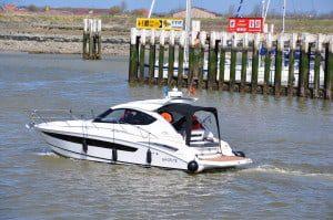 Motoryacht SYLDAN te Nieuwpoort