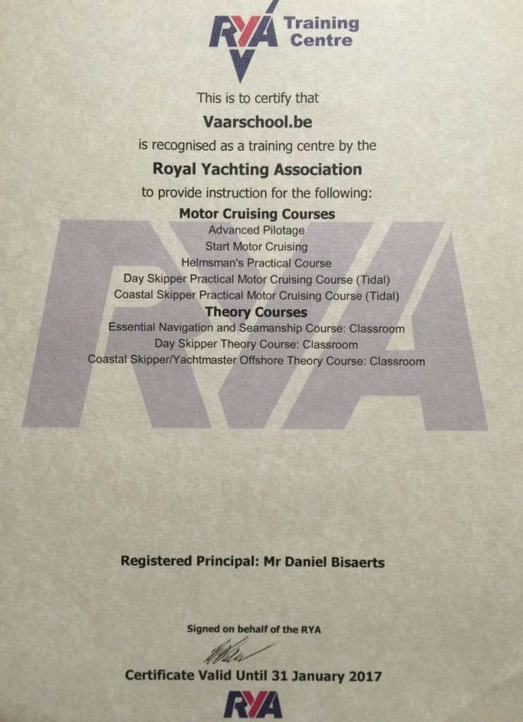 RYA-certifcate-2016