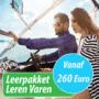 Wegens groot succes permanent verlengd: Stuntpakket Leren Varen vanaf 260 Euro !